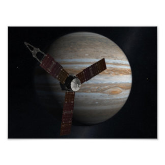 Jupiter Fly By Posters