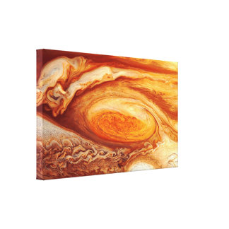 "Jupiter ""Great Red Spot"" 24x16 Canvas Art"