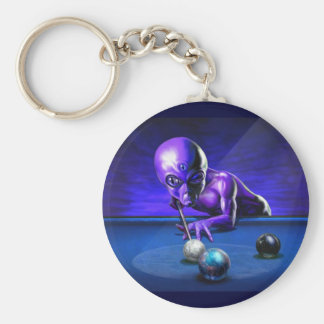 Jupiter In Side Pocket! Alien Keychain