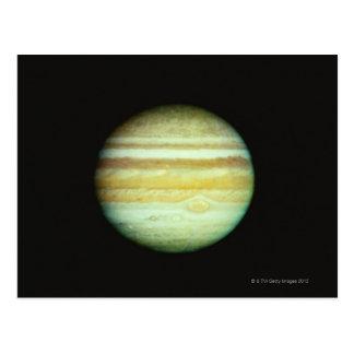 Jupiter in True Color Postcard