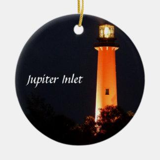 Jupiter Inlet Lighthouse Christmas Ornament