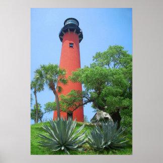 Jupiter Inlet Lighthouse, Florida Poster