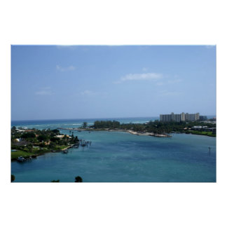 Jupiter Inlet-View from Lighthouse Print