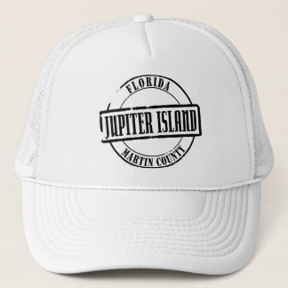 Jupiter Island Title Trucker Hat