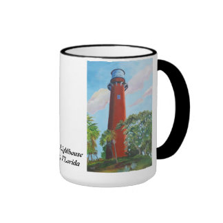 Jupiter Lighthouse Mugs