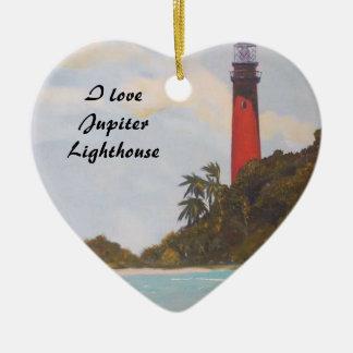 Jupiter Lighthouse Ornament