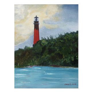 Jupiter Lighthouse Post Card