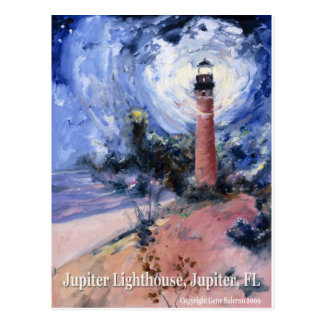 Jupiter lighthouse postcards