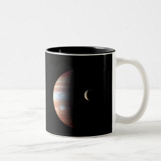 Jupiter Montage Two-Tone Coffee Mug