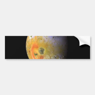 Jupiter moon Lo NASA Bumper Sticker