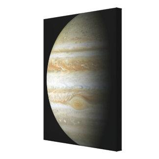 Jupiter mosiac canvas print