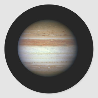 Jupiter Planet NASA Classic Round Sticker