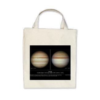 Jupiter Print June 7, 2010 Atmospheric Changes Tote Bags