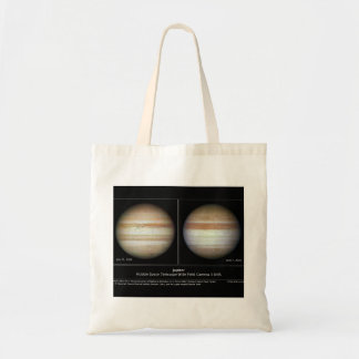 Jupiter Print June 7, 2010 Atmospheric Changes Budget Tote Bag