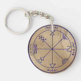 Jupiter Spirit Summoning Sigils Key Ring