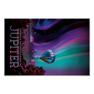 Jupiter Travel Poster