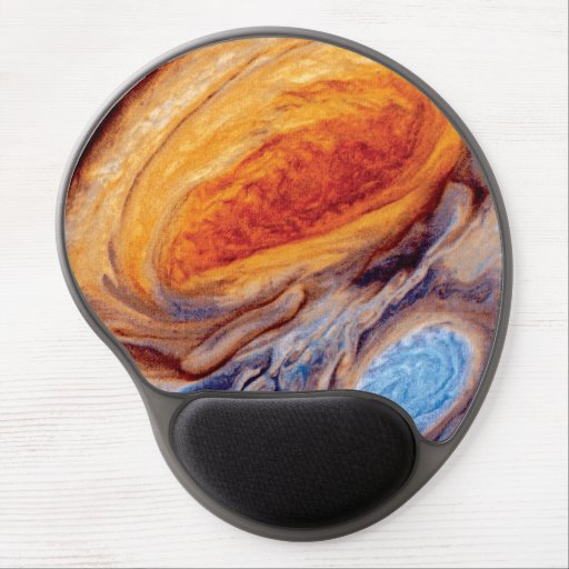 Jupiter's Great Red Spot Gel Mouse Pads