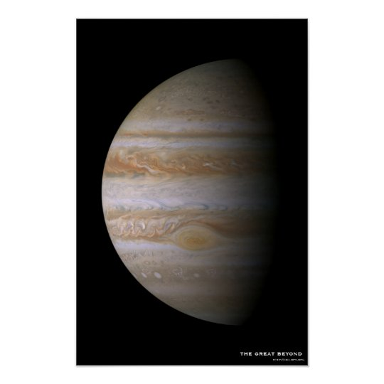Jupiterscape Poster