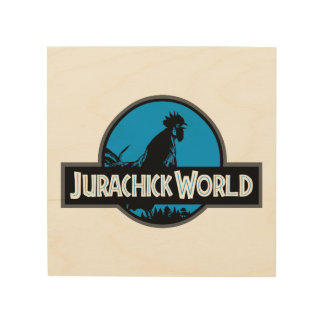 Jurachick World Color Wooden Sign