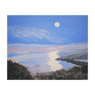 Jurassic Coast Devon UK Gallery Wrapped Canvas