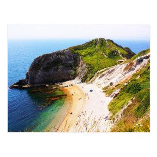 Jurassic Coastline, UK Postcard