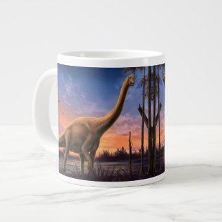 Jurassic Dinosaurs 20 Oz Large Ceramic Coffee Mug Jumbo Mug