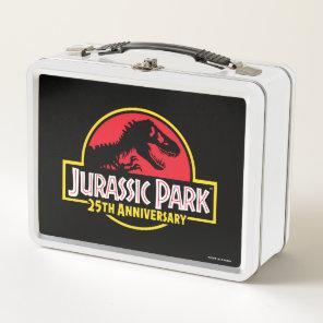 Jurassic Park 25th Anniversary Logo Metal Lunch Box