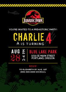Dinosaur Invitations Announcements