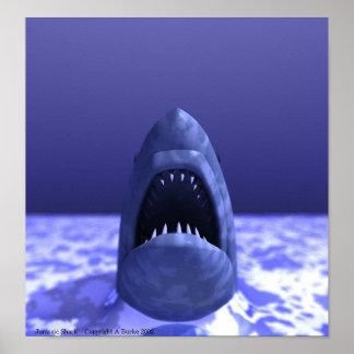 Jurassic Shark Print