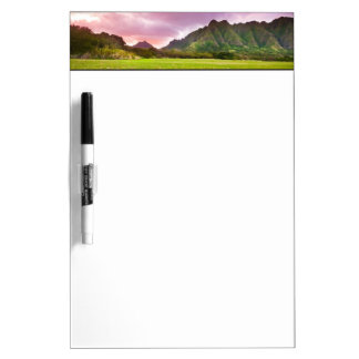 Jurassic Sunset Dry Erase Board