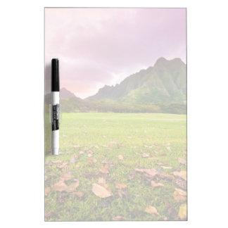 Jurassic Sunset Dry Erase Board