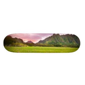 Jurassic Sunset Skateboard Decks