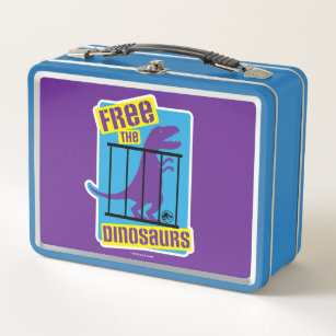 Jurassic World | Free the Dinosaurs Metal Lunch Box