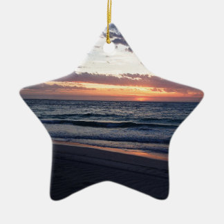 Jurien Bay Sunset Western australia Christmas Ornament