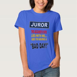 JUROR TEE SHIRTS