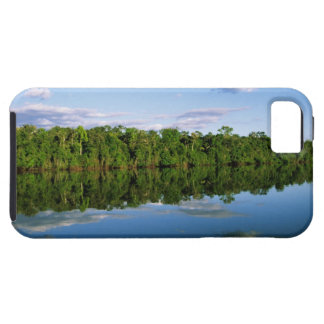 Juruena, Brazil. Forested river bank reflected Case For The iPhone 5