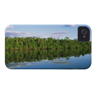 Juruena, Brazil. Forested river bank reflected Case-Mate iPhone 4 Case