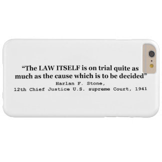 Jury Nullification by Justice Harlan F. Stone 1941 iPhone 3 Tough Cover