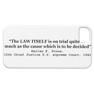 Jury Nullification by Justice Harlan F. Stone 1941 iPhone 5 Cases