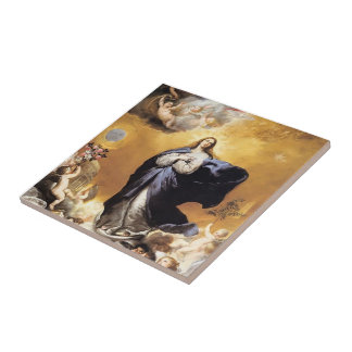 Jusepe de Ribera- Immaculate Conception Tile