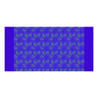 Just 4 Fun Pattern Photo Greeting Card