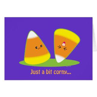 Just a Bit Corny Greeting Card