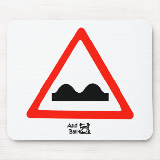 Just a Bump In the Road Mouse Pad