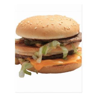 Just a classic hamburger postcard