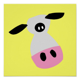 Just a Cow Print