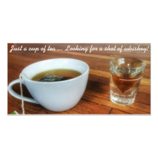 """Just a cup of tea"" quote print Photo Art"