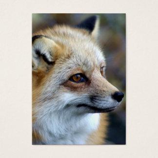 Just a cute little Fox Business Card