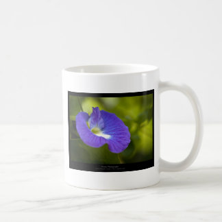 Just a flower – Blue flower 006 Classic White Coffee Mug