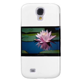 Just a flower – Pink waterlily flower 009 Galaxy S4 Case