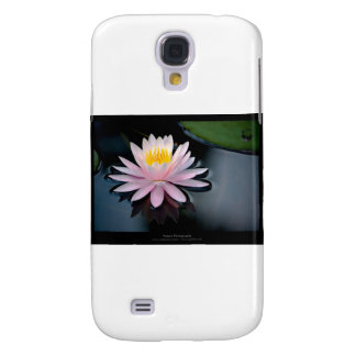 Just a flower – Pink waterlily flower 037 Samsung Galaxy S4 Cover